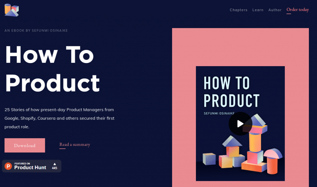 How To Product 25 Stories eBook