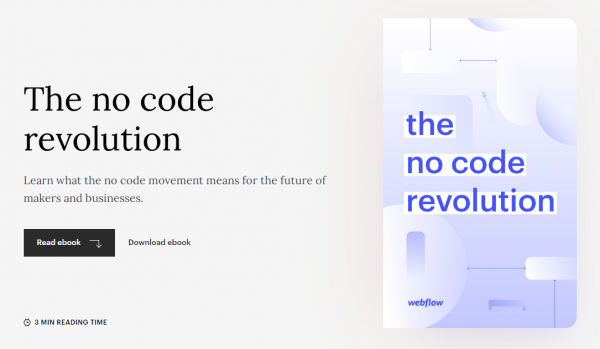 The no code revolution eBook