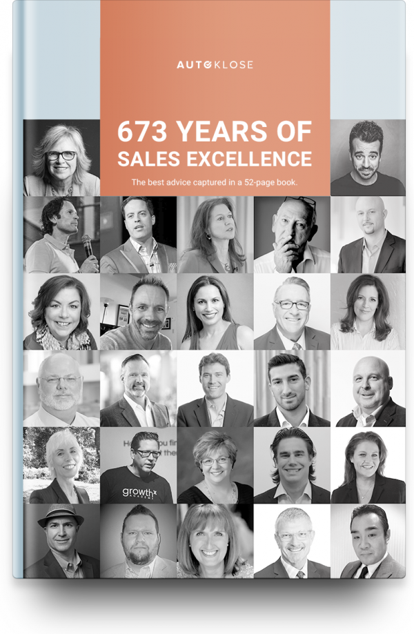 Free Book on 673 YEARS OF SALES EXCELLENCE